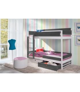 NATU II łóżko 2 osobowe