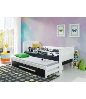 Łóżko piętrowe niskie TELMO
