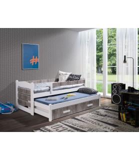TIAGO II łóżko 2 osobowe