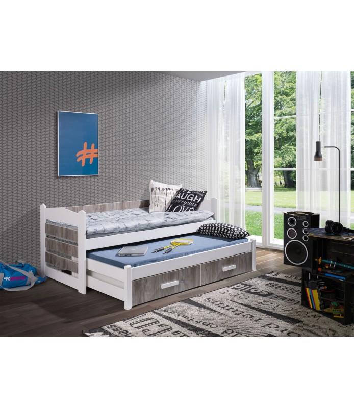 TIAGO łóżko 2 osobowe