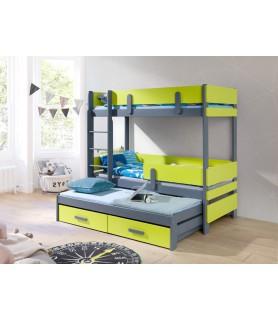 ETTORE III łóżko 3 osobowe
