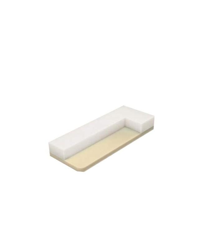 HEKTOR - ŁÓŻKO 160/200 - biały/biały połysk