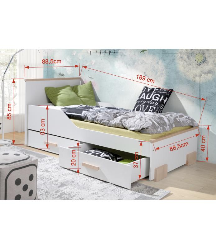 Bartosz łóżko 2 osobowe