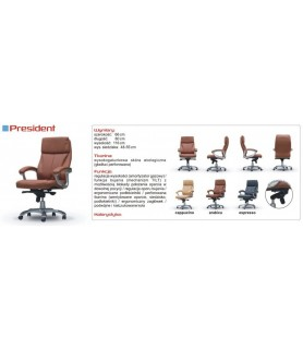 PRESIDENT - fotel biurowy